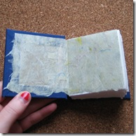 book handmade endpages