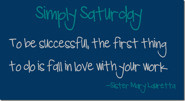simply saturday 5