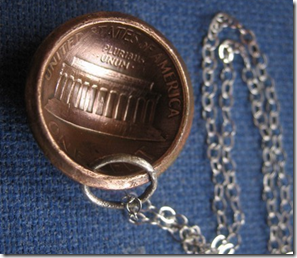 one cent necklace 1