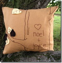 pillow personalized 2