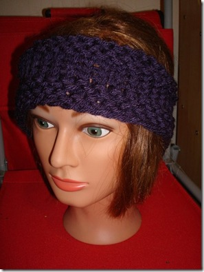 ear warmer purple