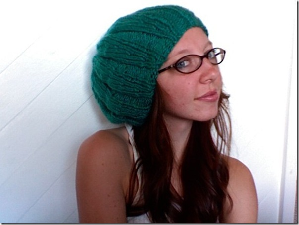 knit to purl blue green